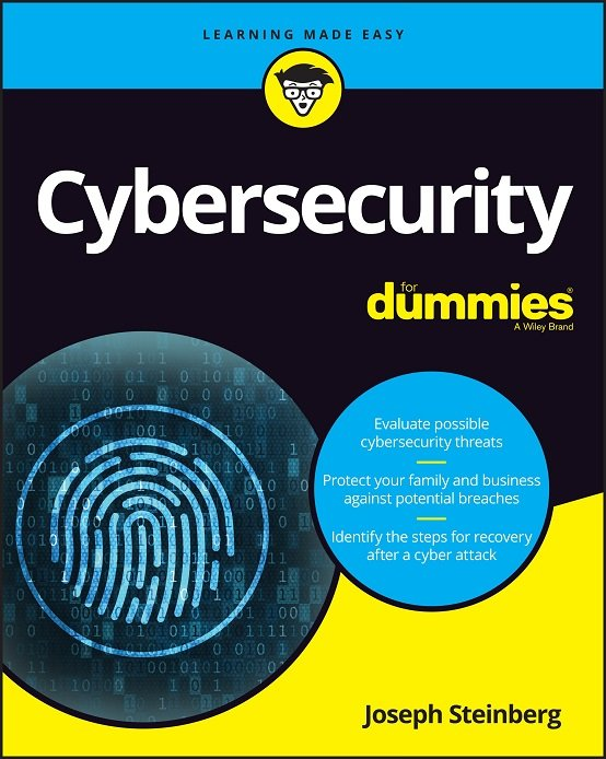 Cybersecurity for Dummies book